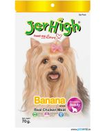 Jerhigh Dog Treats Banana  70 gms