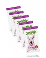 Jerhigh Dog Treats Cookie 70 gms 5 pcs Combo