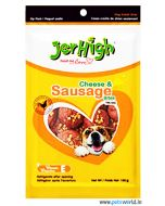Jerhigh Dog Treats Cheese and Sausage 100 gms