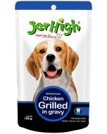 Jerhigh Chicken Grilled in Gravy Dog Food 120 gms