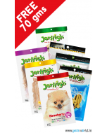 Jerhigh Healthy Dog Treats Combo + FREE Jerhigh 70 gms