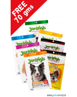 Jerhigh Diggers Dog Treats Combo + FREE Jerhigh 70 gms