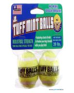 Petsport Jr. Tuff Mint Balls Dog Toy 2 pcs