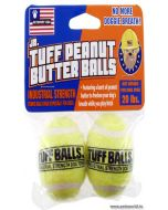 Petsport Jr. Tuff Peanut Butter Balls Dog Toy 2 Pcs