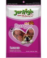 Jerhigh Dog Treats Mini Burger 100 gms