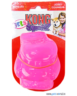 Kong Squeezz Jels Hippo Dog Toy Medium