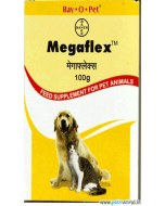 Bayer Megaflex Joint Supplement for Dog & Cat 100 gm