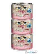 Morando Miglior Gatto Salmon and Shrimp Pate Can Cat Food 200 gms 3 pcs