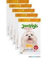 Jerhigh Dog Treats Milky 70 Gms 5 Pcs Combo