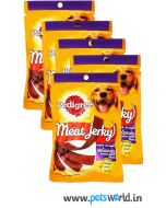 Pedigree Dog Treats Meat Jerky Roasted Lamb 5 Packs