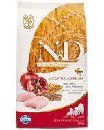 Farmina N&D Low Grain Chicken & Pomegranate Adult  Mini Dog Food 2.5 kg