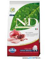 Farmina N&D Pumpkin Grain Free Adult Chicken & Pomegranate Mini Dog Food 2.5 Kg