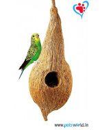Petsworld Natural Tailor Bird House (hanging)