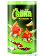 Osaka Green-1 Spirulina Enhanced Formulation Fish Food 100 gms