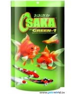 Osaka Green-1 Spirulina Enhanced Formulation Fish Food 200 gms
