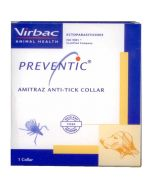 Virbac PREVENTIC Amitraz Anti-Tick Collar