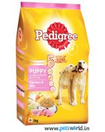 Pedigree Puppy  Chicken and Milk Dog Food 3 Kg
