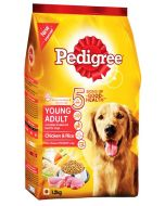 Pedigree Young Adult Chicken And Rice Dog Food 1.2 Kg