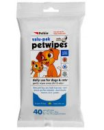 Petkin Pet Wipes For Dogs and Cats 40 pcs