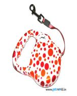 Polka Retractable Dog Leash Medium
