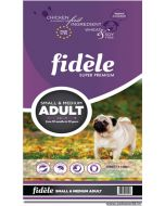 Fidele Small & Medium Breed Adult Dog Food 15 Kg