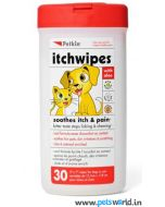 Petkin Itchwipes For Dogs & Cats 30 pcs