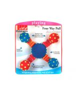 Petstages Four Way Pull Dog Toy