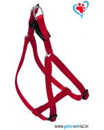 PetsWorld Red Harness Large