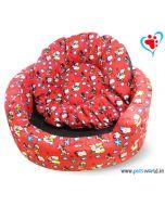 DOGEEZ DISNEY Magic Round Lounger/Basket Dog Bed (Small)