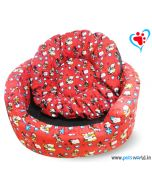 DOGEEZ DISNEY Magic Round Lounger/Basket Dog Bed (Medium)