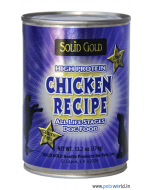 Solid Gold Chicken Recipe Can Dog Food 374 gms