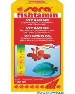 Sera Fishtamin Complementary Vitamin Feed For Ornamental Fish 100 ml