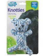 Pet Brands Knotty Teddy Bear Dog Toy