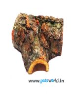 Pets World Classic Wood Tunnel For Aquarium - S