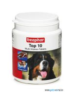 Beaphar Top 10 Multi Vitamin Supplements For Dogs 60 tabs