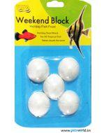 Toya Weekend Block Holiday Fish Food