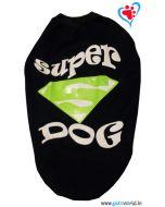 DOG EEZ Winter Tshirt Super Dog Blue 24 inches