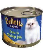Bellotta Gatto Tuna in Shrimp Jelly Canned Cat Food 185 gm