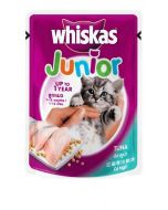 Whiskas Junior Tuna 85 gms x 24 pcs