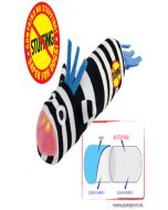 Petstages  Just For Fun Lil Squeak Dog Toy Zebra
