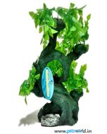 Aqua Geek Fish Aquarium Resin Plant - Zen Bonsai