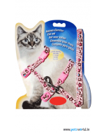 Krazy Kitty Cat Harness With Leash