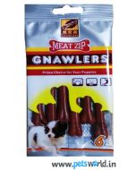 Gnawlers Dog Treats Meat Zip 6 pcs