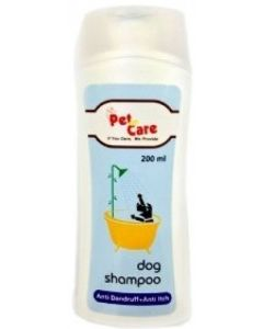 Pet en Care Anti Dandruff and Anti Itch Dog Shampoo 200 ml