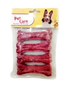 "Pet en Care Mutton Munchy Bone 4"" 4 pcs pack"