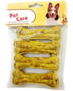 "Pet en Care Chicken Munchy Bone 4"" 4 pcs pack"