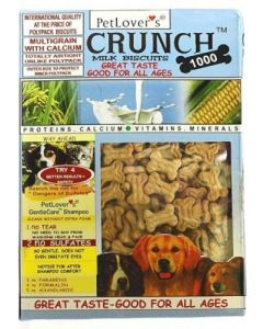 Pet Lovers Crunch Puppy Chicken & Milk Biscuits 900 gms