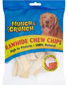 Munch & Crunch Rawhide Chew Chips