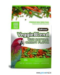 Zupreem Veggie Blend Food For Parrot 1.47 Kg