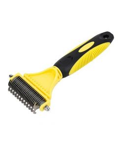 Petsworld Sided Pet Dematting Comb for Cats Dogs